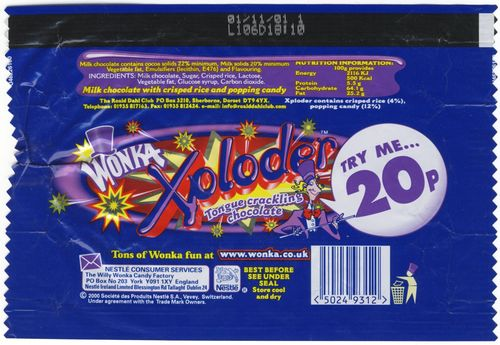 Willy Wonka Candy Chocolate Bars Vintage Willy Wonka The
